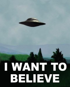 """I Want To Believe"""
